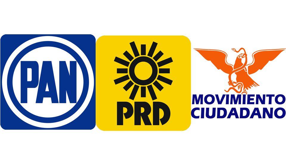 Presentan carta intención y ya hay fracturas entre PAN, PRD y MC