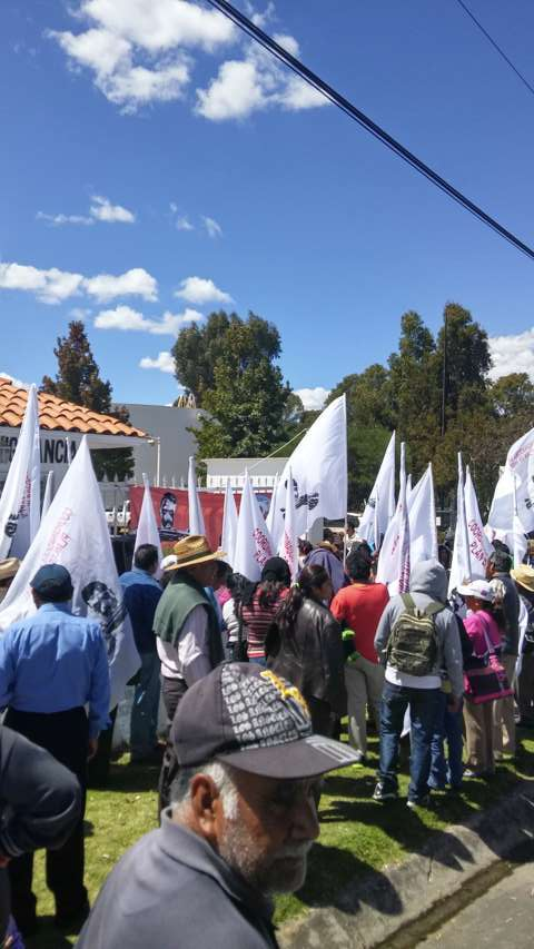 Campesinos tlaxcaltecas no permitirán recorte a programas de ese sector