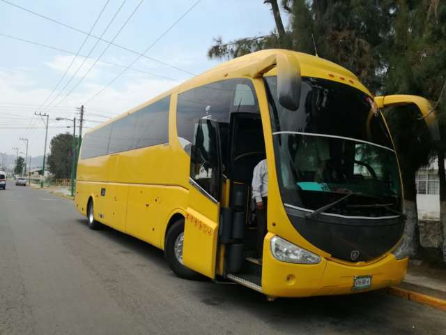 Recupera PGJE autobús con reporte de robo en la Ciudad de México