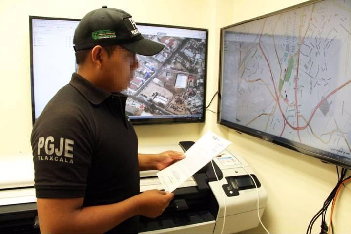 Investiga PGJE robo cometido en el municipio de Papalotla