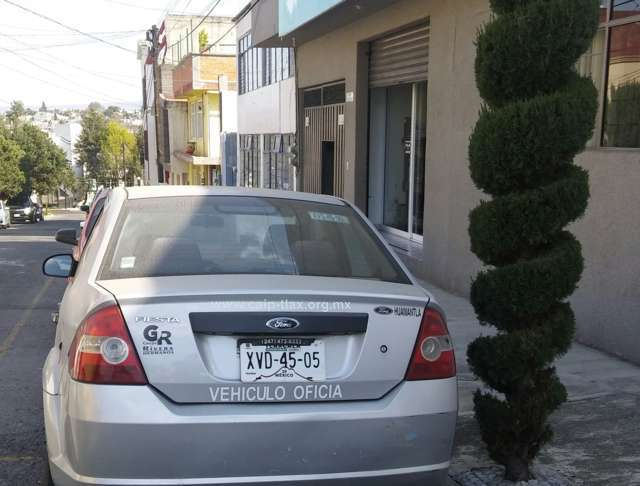 Ex presidente del IAIP desapareció un vehículo de reciente modelo