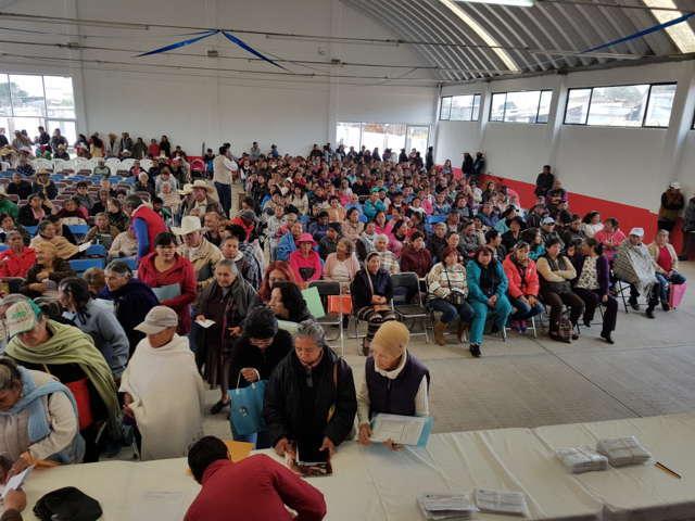 El 9 de junio Sedesol comenzará con pago a Adultos Mayores