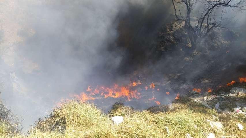 Descartan explosión de polvorín fue incendio de llantas