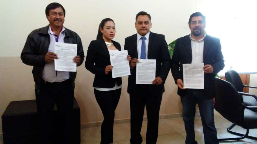 Ayuntamiento de Tetla de la Solidaridad firma convenio para misión cultural