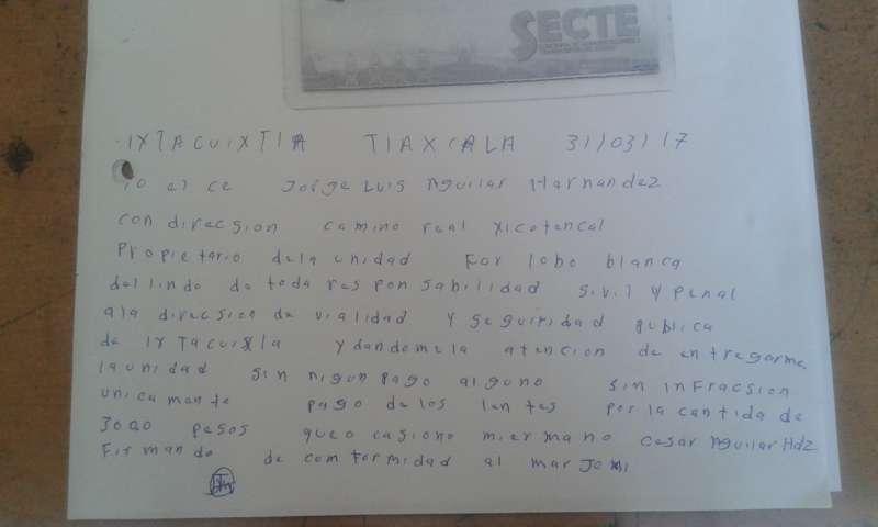 Policías municipales de Ixtacuixtla desmienten hechos suscitados en Xocoyucan