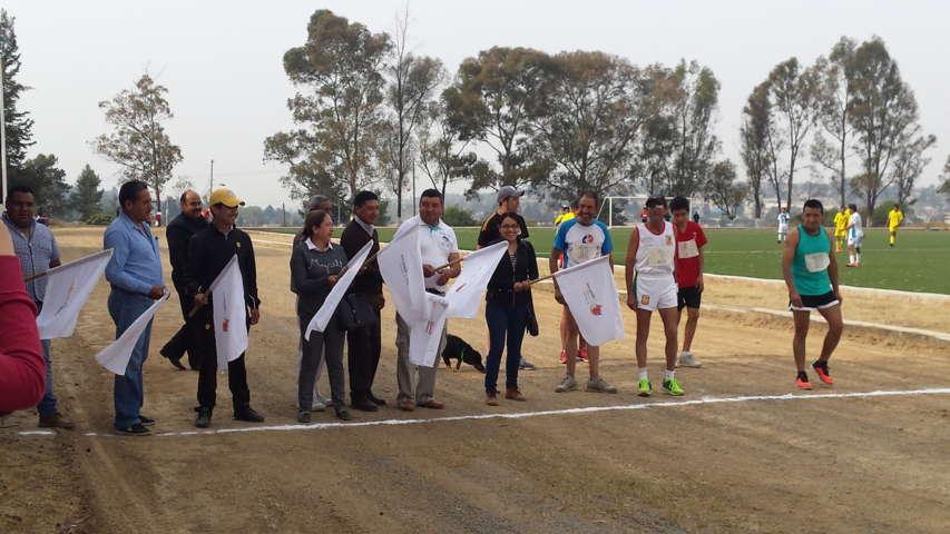 Realiza Ayuntamiento de Texóloc carrera de 10,000 m planos