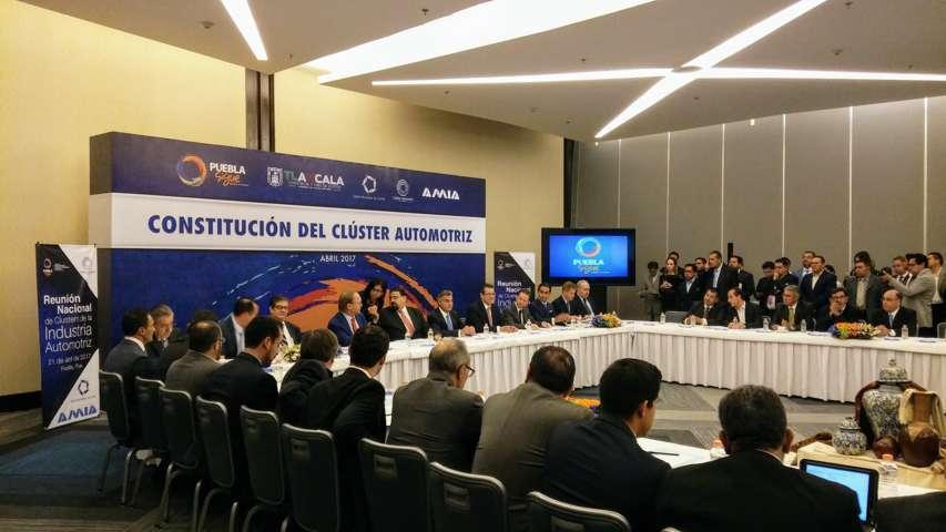 Tony Gali: Se consolida Clúster Automotriz de la Zona Centro Puebla-Tlaxcala