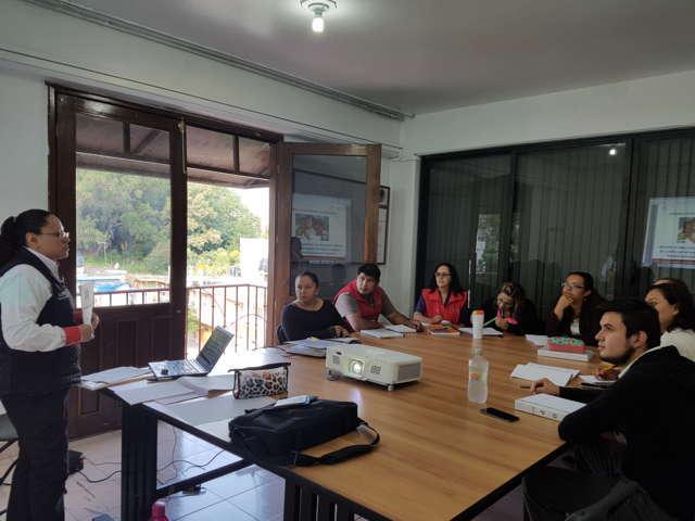 Recibe capacitación personal operativo de estancias infantiles en Tlaxcala