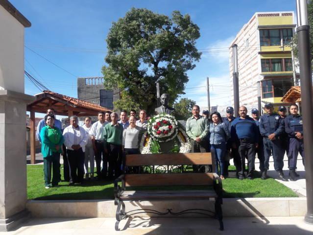 Ayuntamiento de Texóloc celebró aniversario luctuoso de Chon Pérez