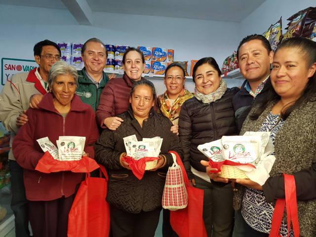 Inaugura Sedesol reapertura de tienda Diconsa en Nanacamilpa