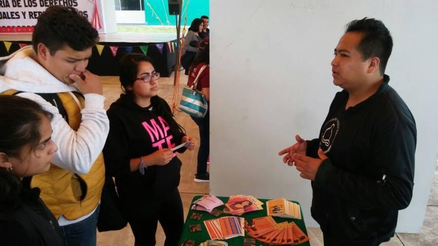 Realizó Uptx 5ta Feria de Derechos Sexuales y Reproductivos