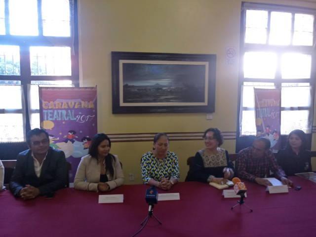 Caravana teatral 2017 se presenta en Texóloc el sábado y domingo