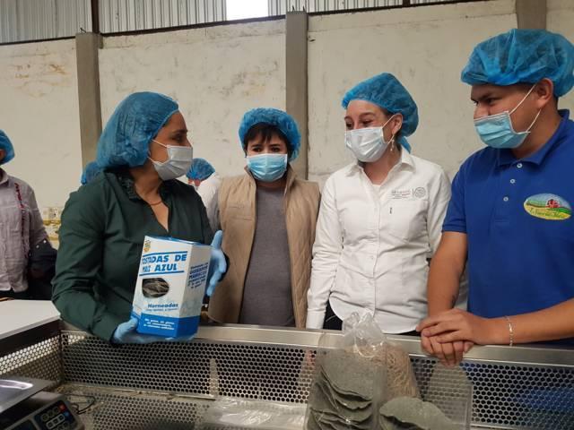 Realiza la Directora de INAES gira de trabajo por Tlaxcala