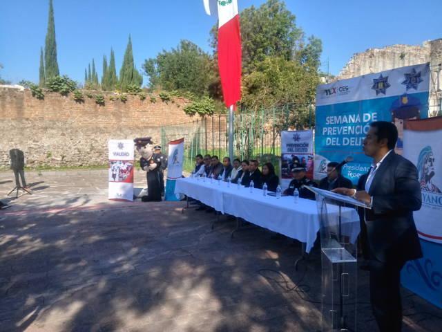 Con éxito cierran Semana de Prevención del Delito en Tepeyanco