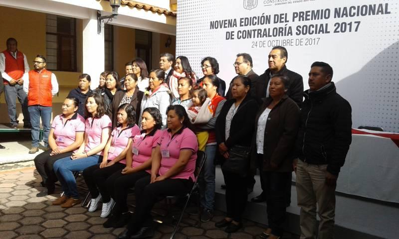 Novena entrega del premio nacional de contraloría