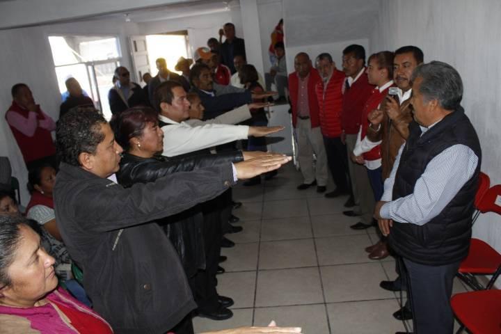 Toma protesta nuevo comité municipal de Ixtacuixtla