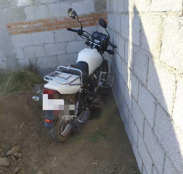 Policía Municipal de Tetla logra recuperar motocicleta con pre denuncia de robo