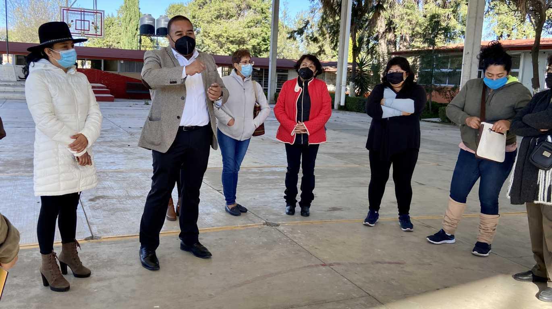 Anuncia Badillo Jaramillo programa digital para impulsar la educación en Xicohtzinco