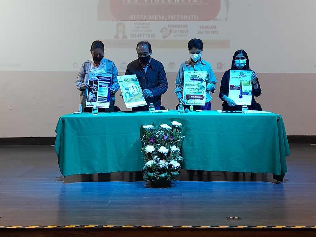 Lanzan en Zacatelco la campaña Una Vida Libre de Violencia