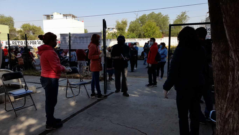 Sin contratiempos concluye vacunación anti Covid en San Pablo del Monte