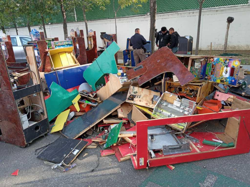 FGR destruye más de 160 objetos de delito en Tlaxcala