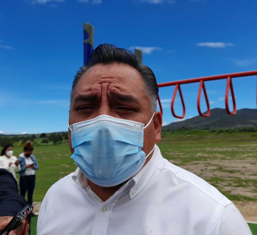 Eleazar Molina concluirá su administración en Tetla con finanzas sanas