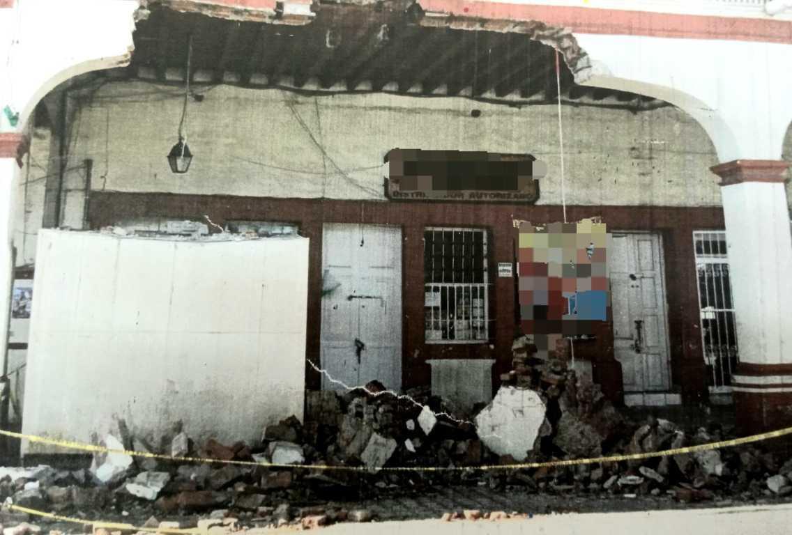Vinculan a proceso quien destruyó el Portal Hidalgo en Calpulalpan