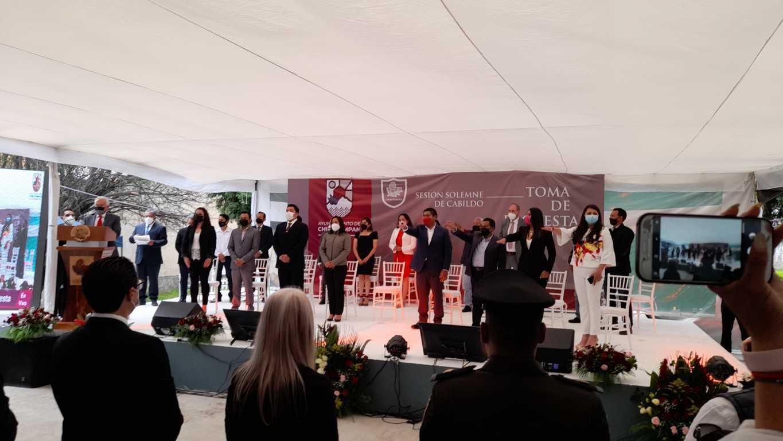 Chiautempan inicia su etapa de transformación y creciente: Gustavo Jiménez