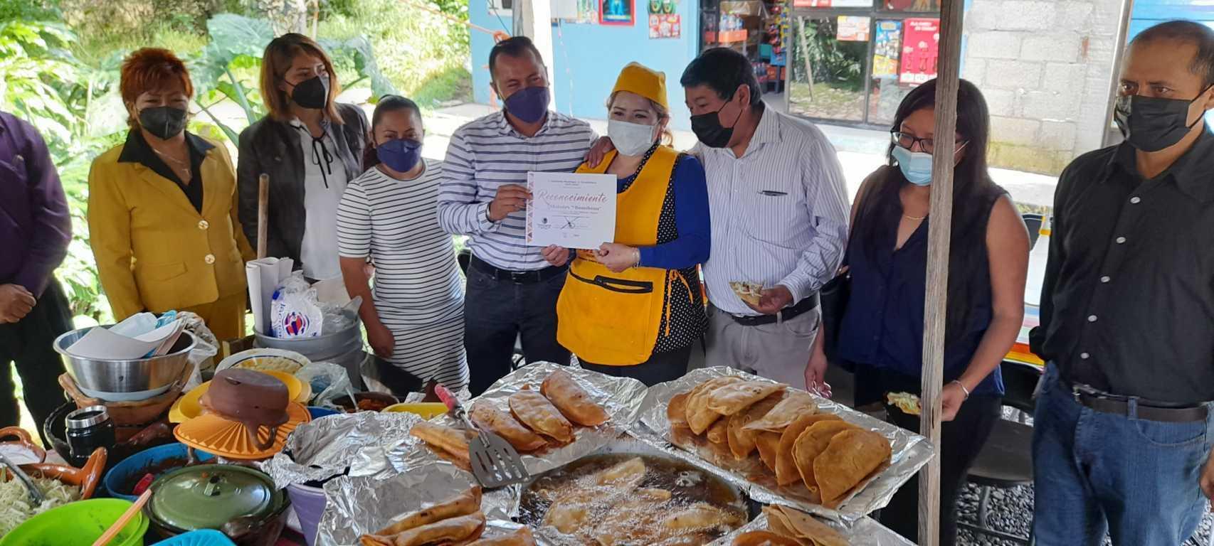 El molote ha dado identidad gastronómica a Xicohtzinco, resalta Barroso