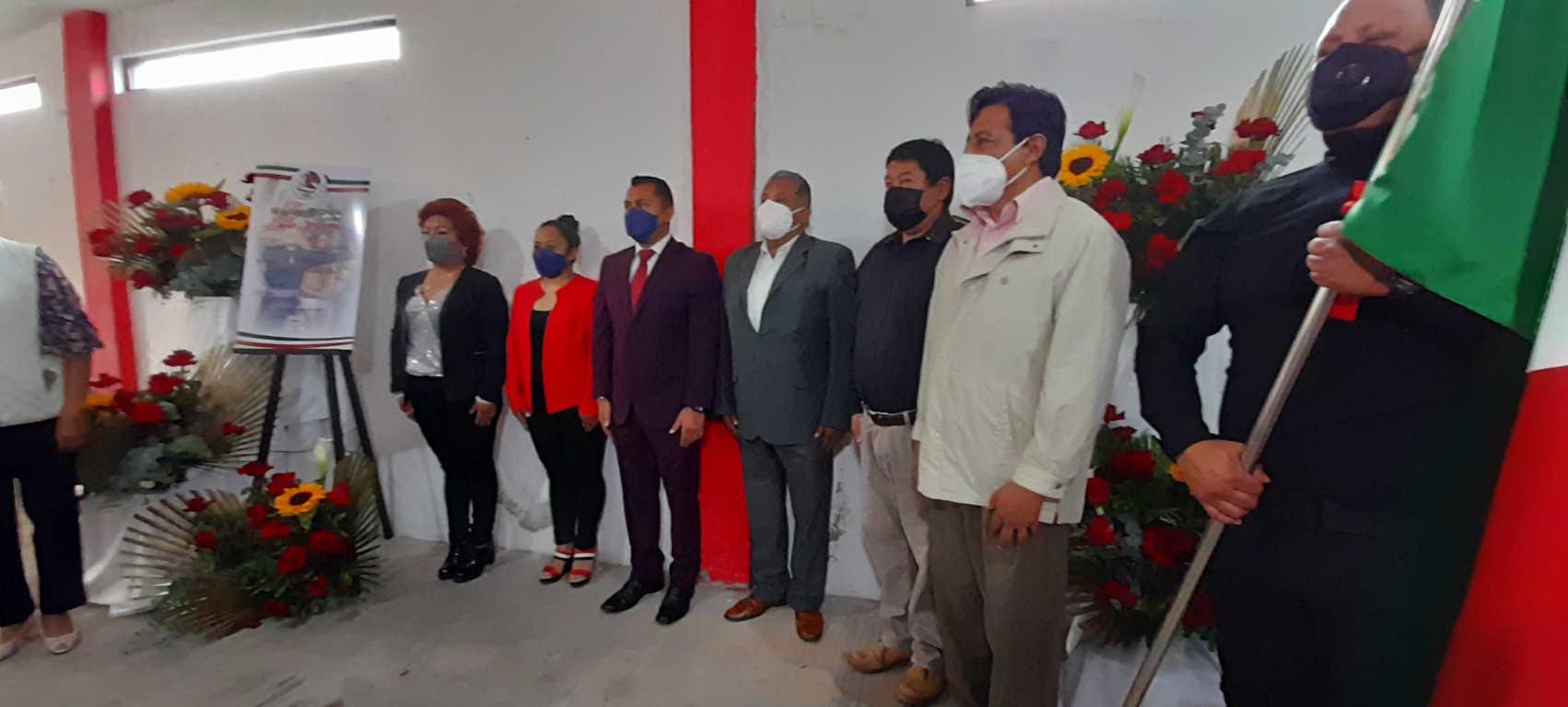 No habrá eventos masivos en Xicohtzinco, anunció Luis Ángel Barroso