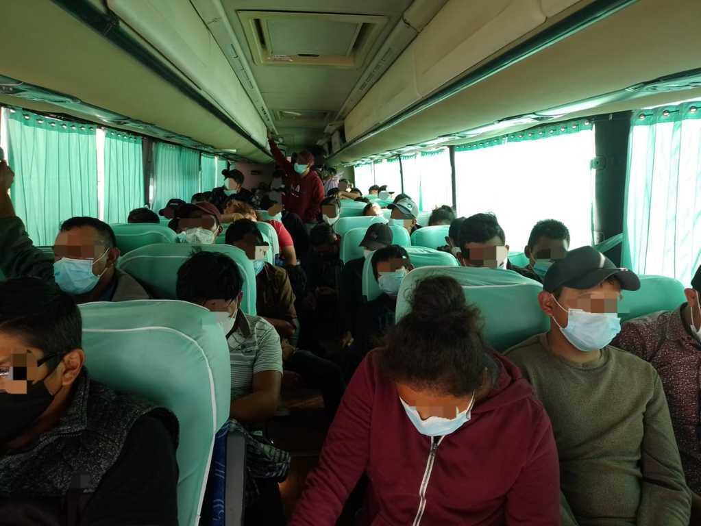 Por transporte de migrantes la FGR obtiene vinculación a proceso contra una persona