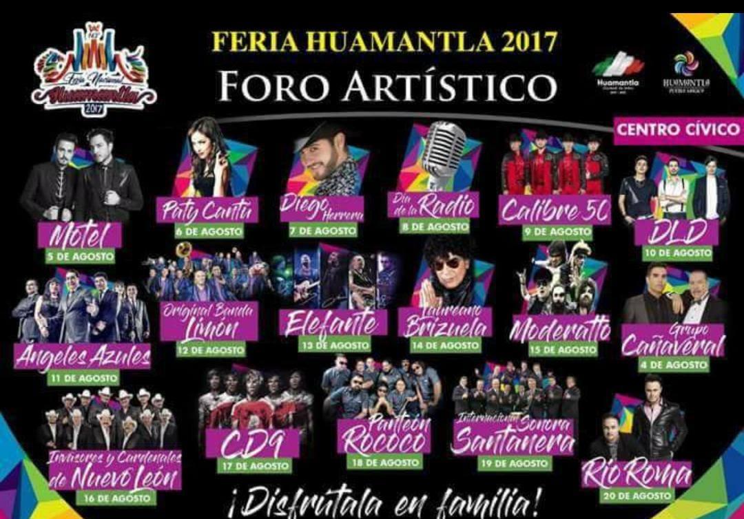 Circula en redes sociales cartel pirata de la Feria de Huamantla 2017
