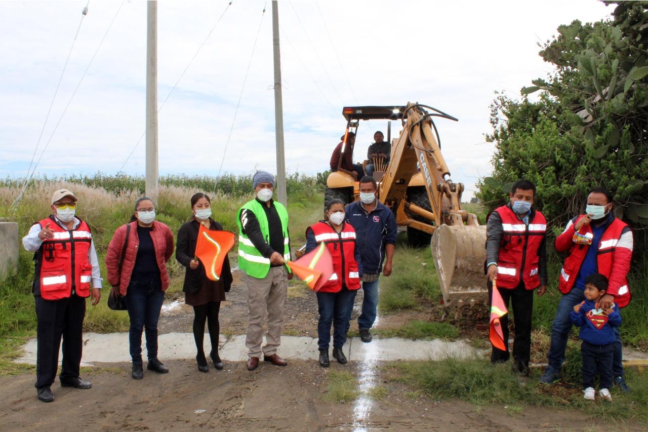 Dan inicio trabajos de ampliación de red de agua potable en Xiloxoxtla