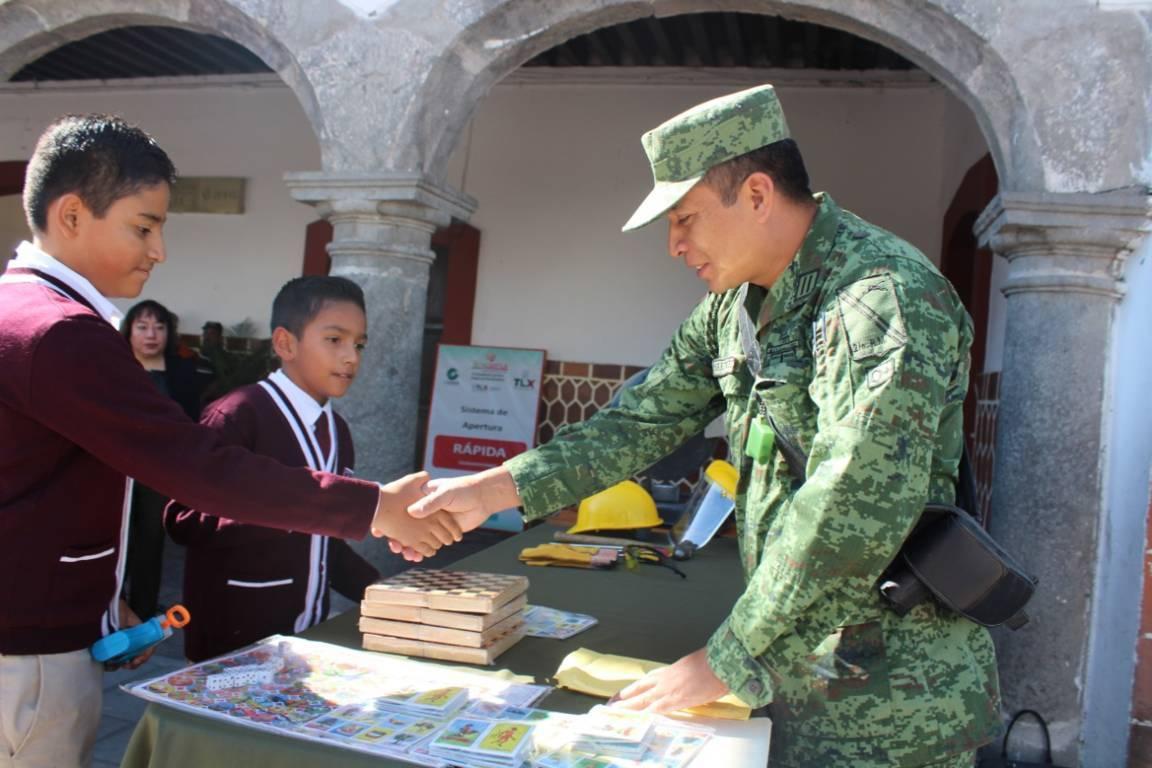 SEDENA y el Ayuntamiento inician campaña de Canje de Armas