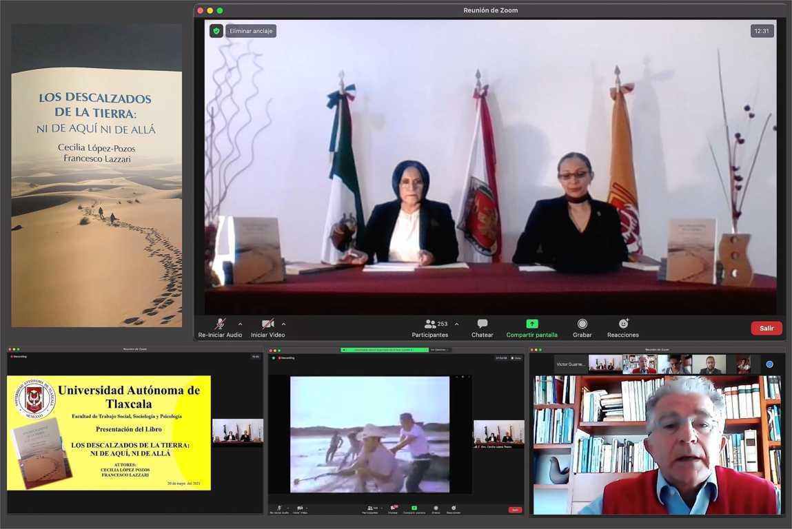 Presenta UATx libro internacional sobre migración