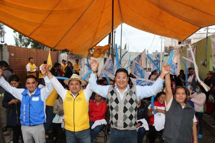 Inminente triunfo de César Fredy Cuatecontzi en el distrito 08