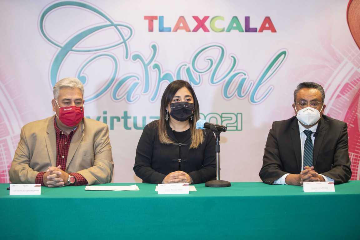 Presenta SECTURE programa CARNAVAL VIRTUAL TLAXCALA 2021