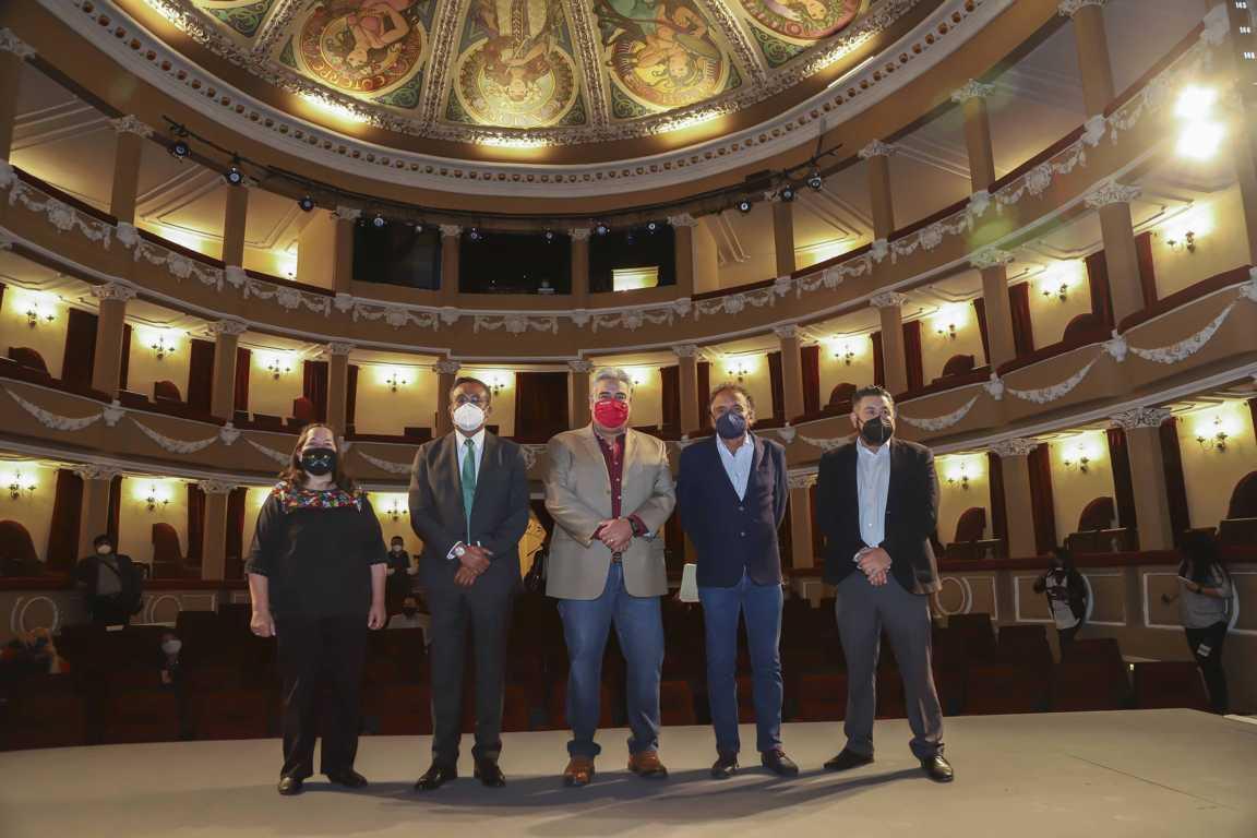Entregan ITC y Secoduvi restauración del Teatro Xicohténcatl