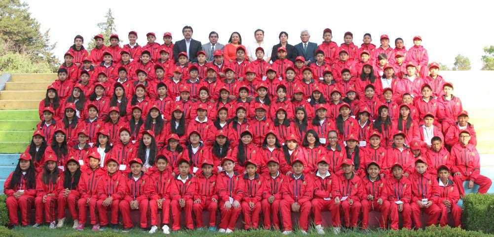 130 alumnos participan en Olimpiada del Conocimiento Infantil