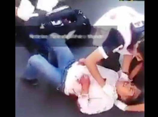 En Zacatelco mujer fue atropellada por aparente descuido