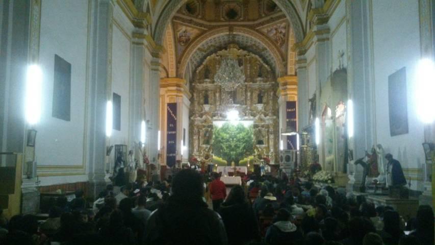 Festejan vigésima posada navideña en Yauhquemehcan