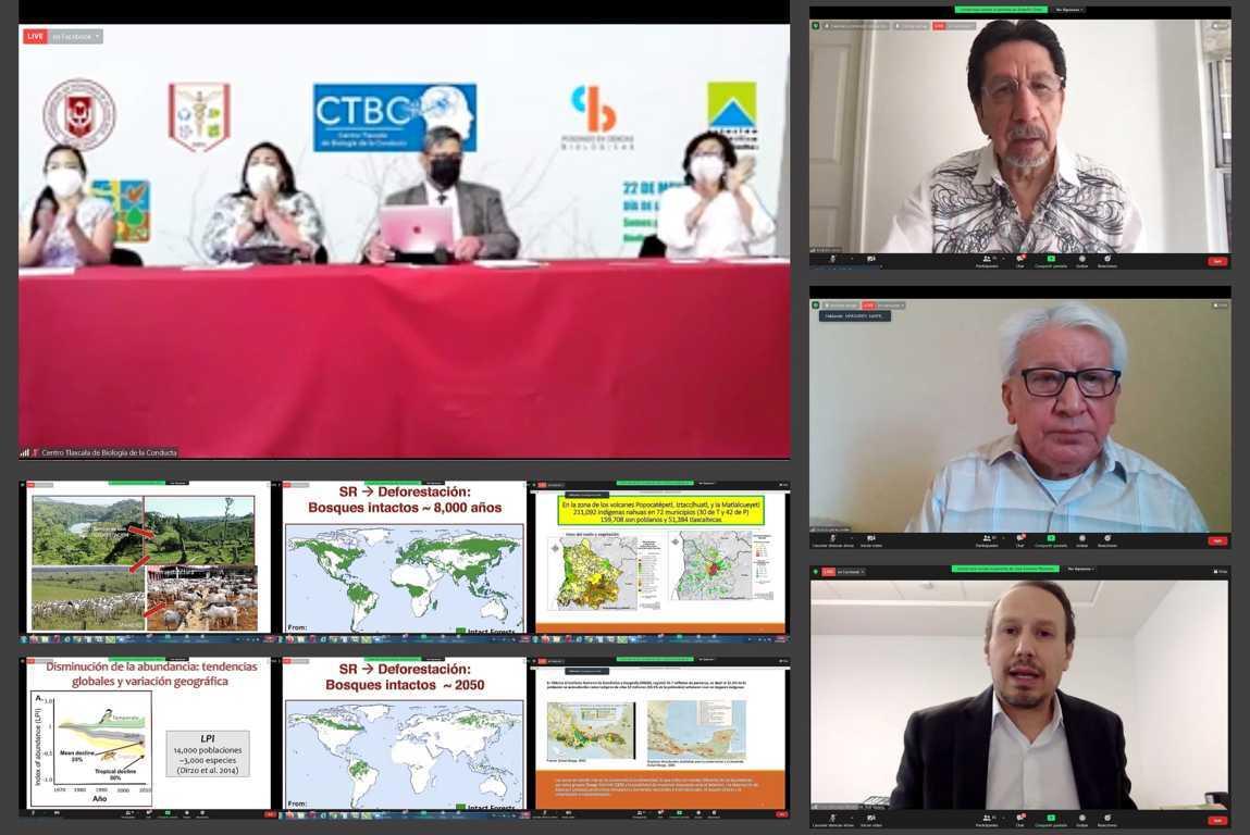 Conversan en la UATx sobre los desafíos para la conservación del medio ambiente