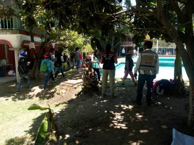 Vacacionistas y feligreses seguros en esta Semana Santa en Santa Cruz Tlaxcala