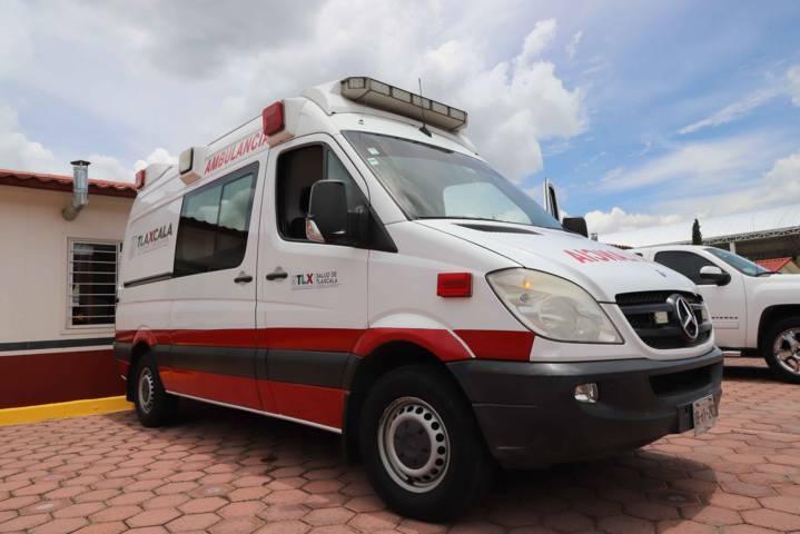 Interviene SECTE tras accidente vehicular en Carretera Tlaxcala-Apizaco