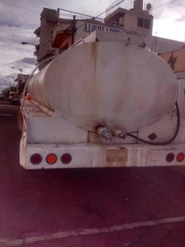 Asegura Policía Estatal a sujeto por posesión ilegal de hidrocarburo