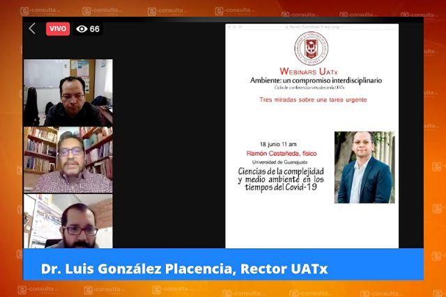 Comenzó UATx conferencias sobre medio ambiente