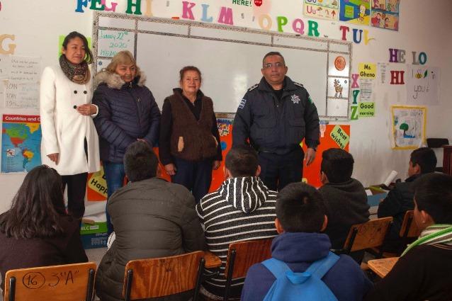SEPE respalda jornadas de prevención del delito en escuelas
