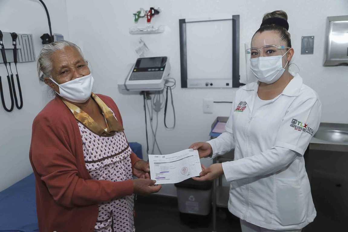 RUTA POR TU SALUD brinda atención médica especializada a familias de San Juan Huactzinco