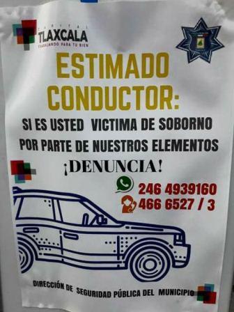 Va Ayuntamiento capitalino por presuntos policías corruptos