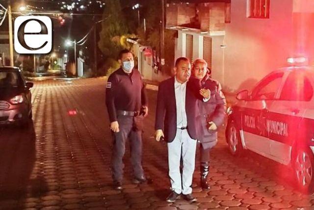Tras sismo, intenso operativo de Protección Civil y seguridad en Apetatitlán
